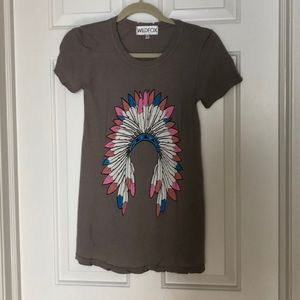 Wildfox graphic tee, Small